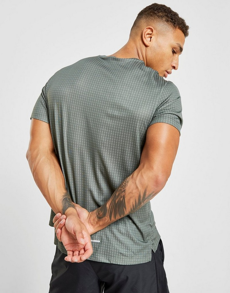 Nike Miler Grid Tech T-Shirt