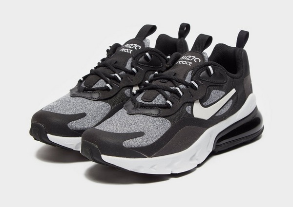 Shoppa Nike Air Max 270 React Junior i en Svart färg | JD