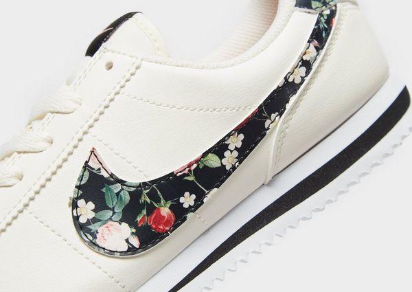 on sale 1af78 f2e85 Nike Cortez Basic Vintage Floral Older Kids' Shoe | JD Sports
