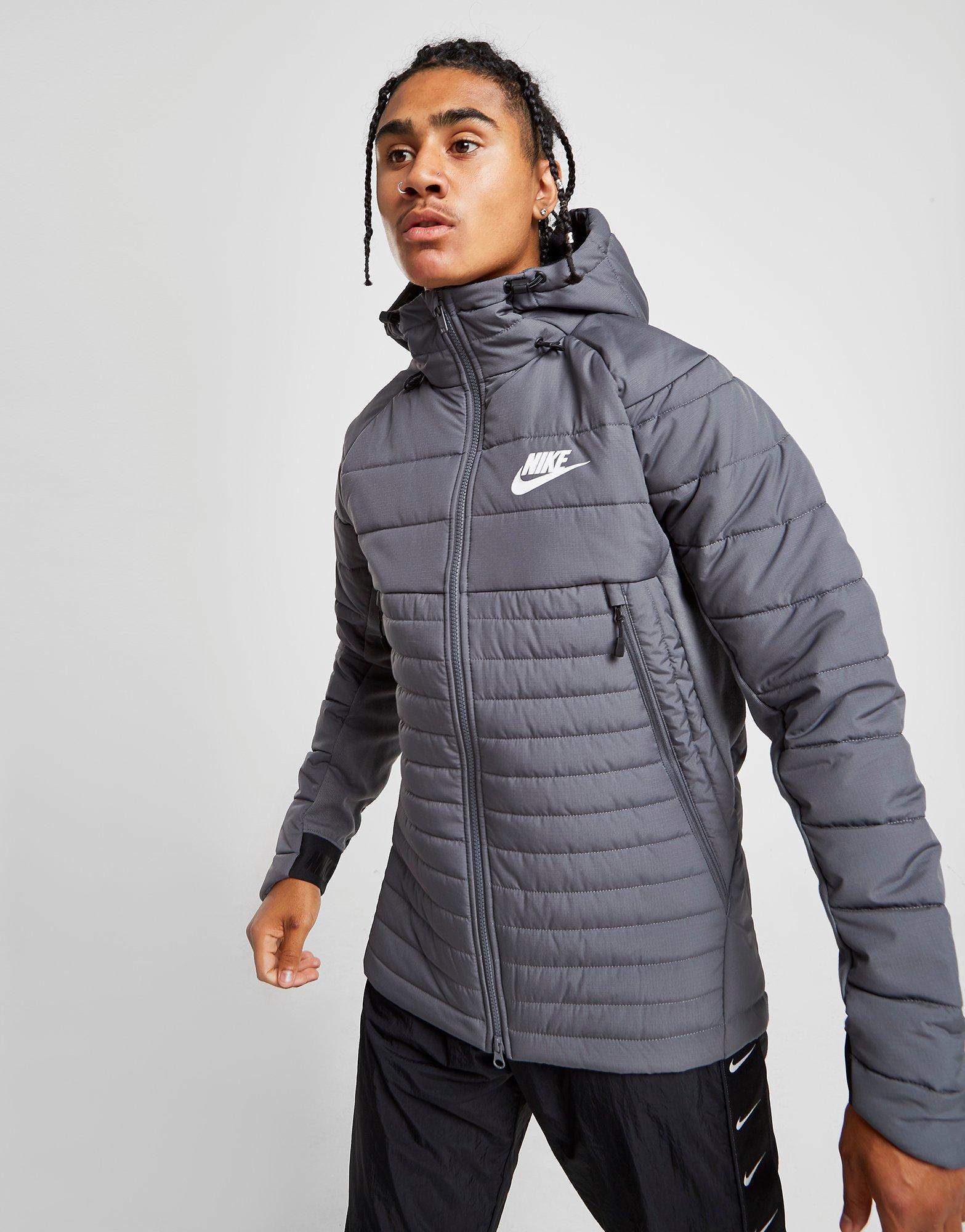 nike jacket gray