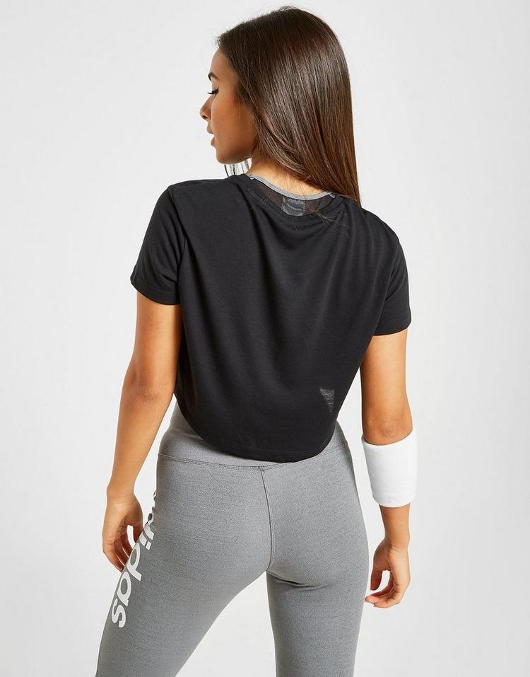 adidas T-Shirt Linear Crop Femme