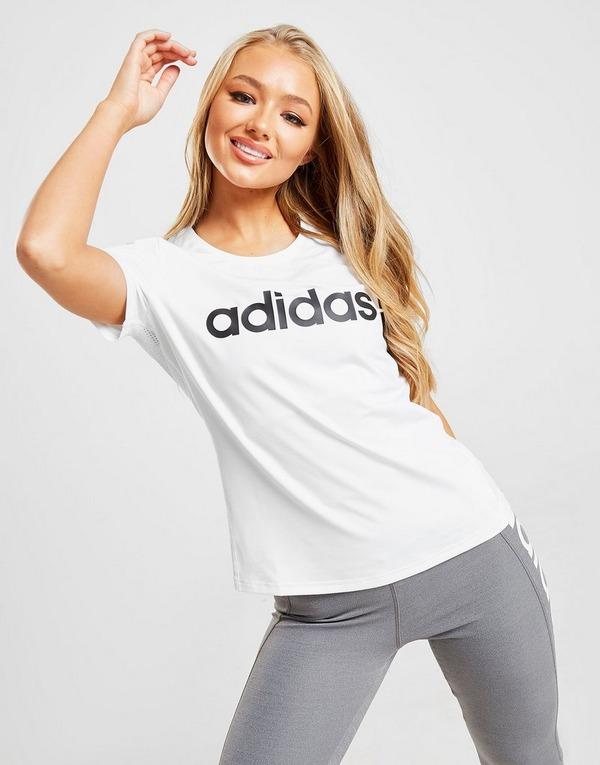 adidas Linear T Shirt Dames