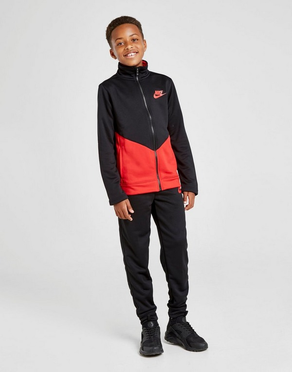 Shop den Nike Futura Trainingsanzug Kinder in Black | JD Sports