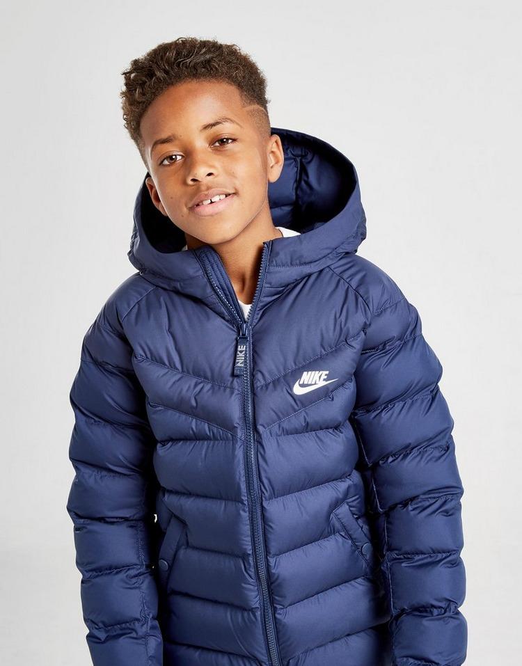Køb Nike Sportswear Padded Jakke Junior i Blå   JD Sports