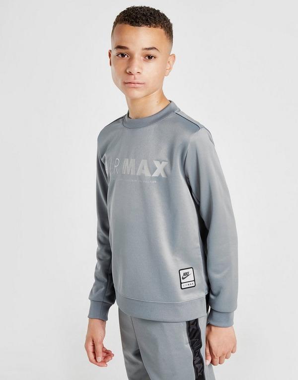 Shop den Nike Air Max Sweatshirt Kinder in Grau | JD Sports