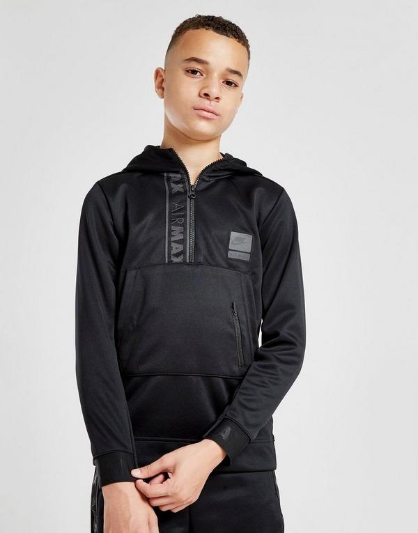 Acherter Noir Nike Sweat à capuche Air Max Poly 14 Zippé