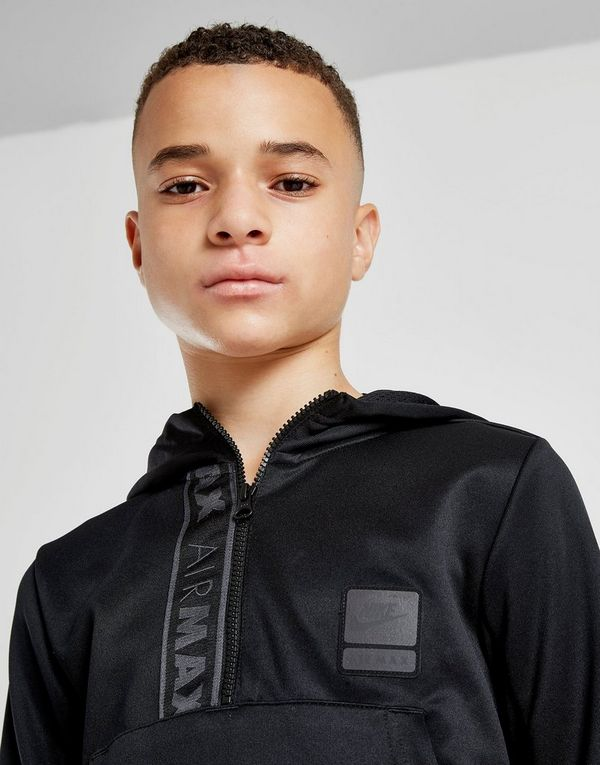 buy popular 161dc 275f9 Nike Air Max Older Kids' Half-Zip Hoodie | JD Sports