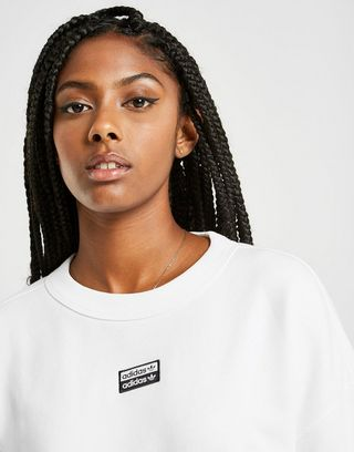 adidas Originals R.Y.V. Crew Sweatshirt | JD Sports