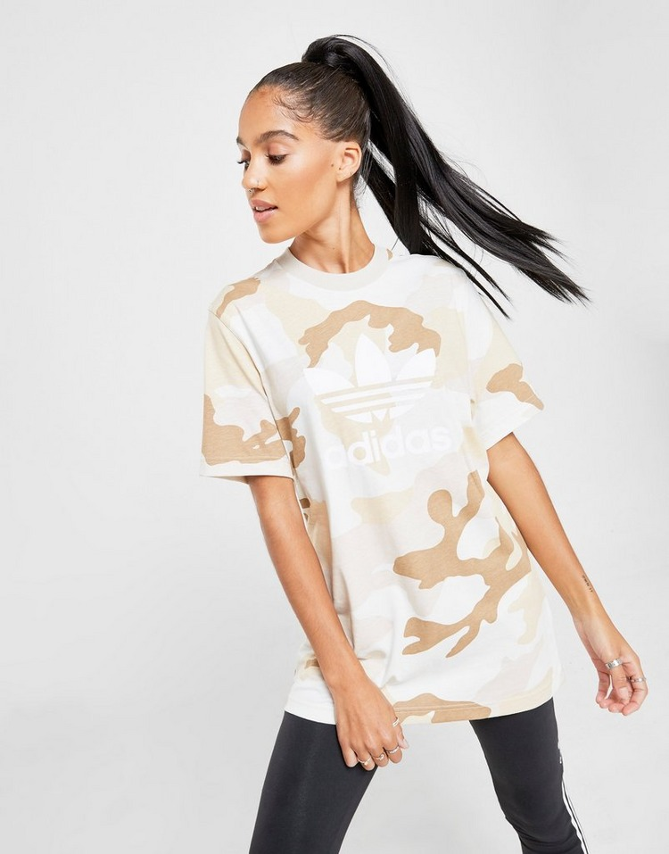 adidas Originals All Over Camo Print T-Shirt
