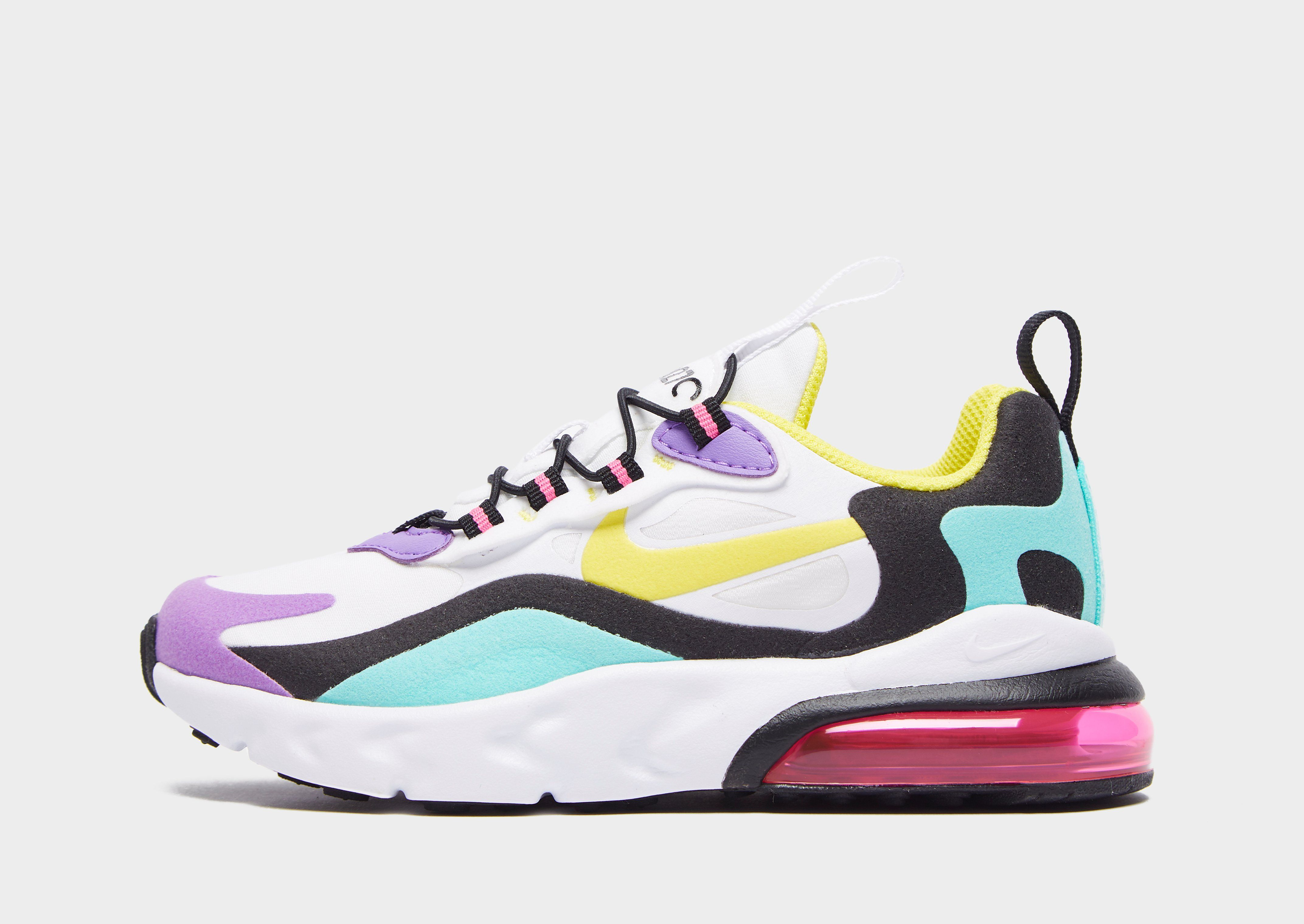 los angeles 409e1 4ed60 Nike Air Max 270 RT Younger Kids' Shoe | JD Sports