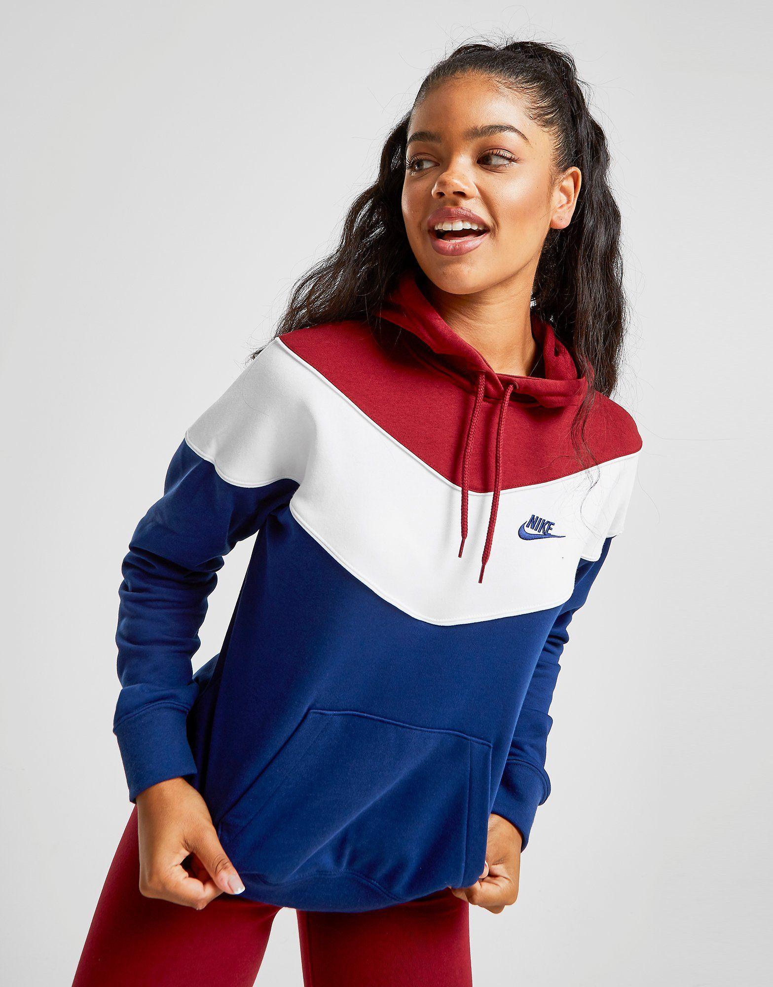 HERITAGE HOODIE Blau | Nike Herren Jacken & Zip Hoodies