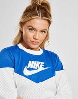 Nike Heritage Mesh Crop T-Shirt Womens