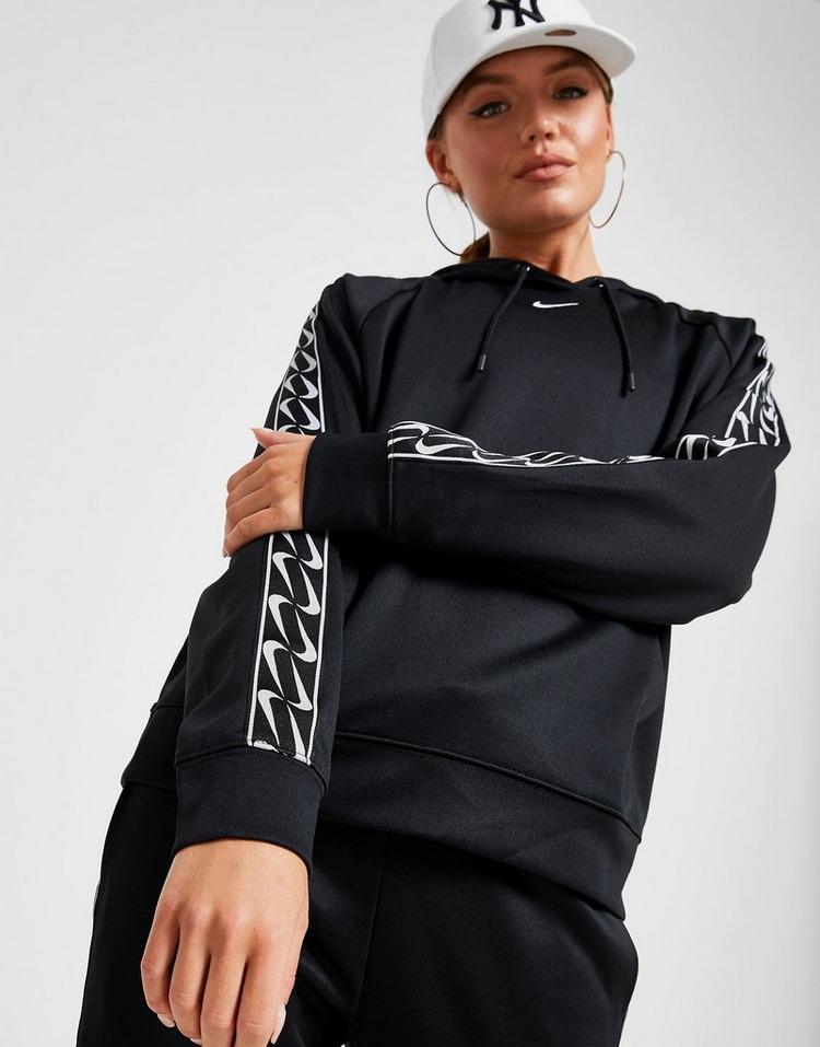 Nike Sweat à capuche Double Swoosh Tape Femme
