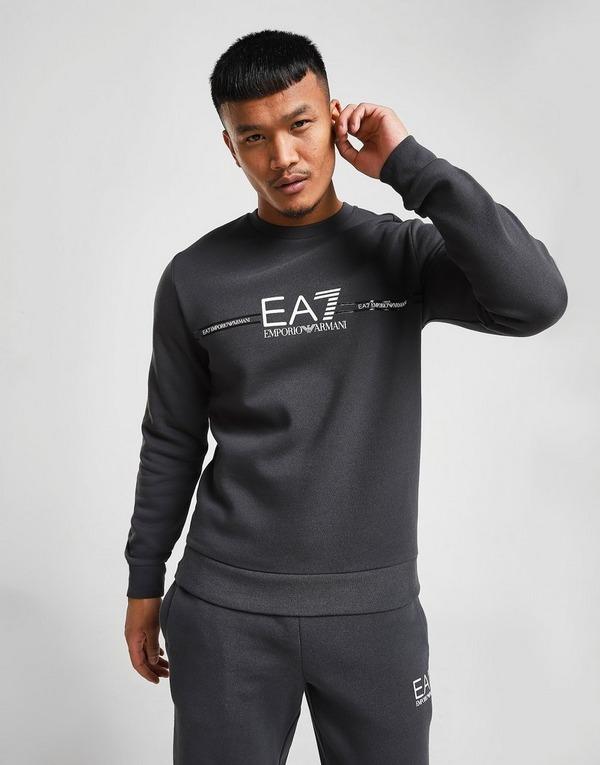 Emporio Armani EA7 Central Logo Crew Sweatshirt