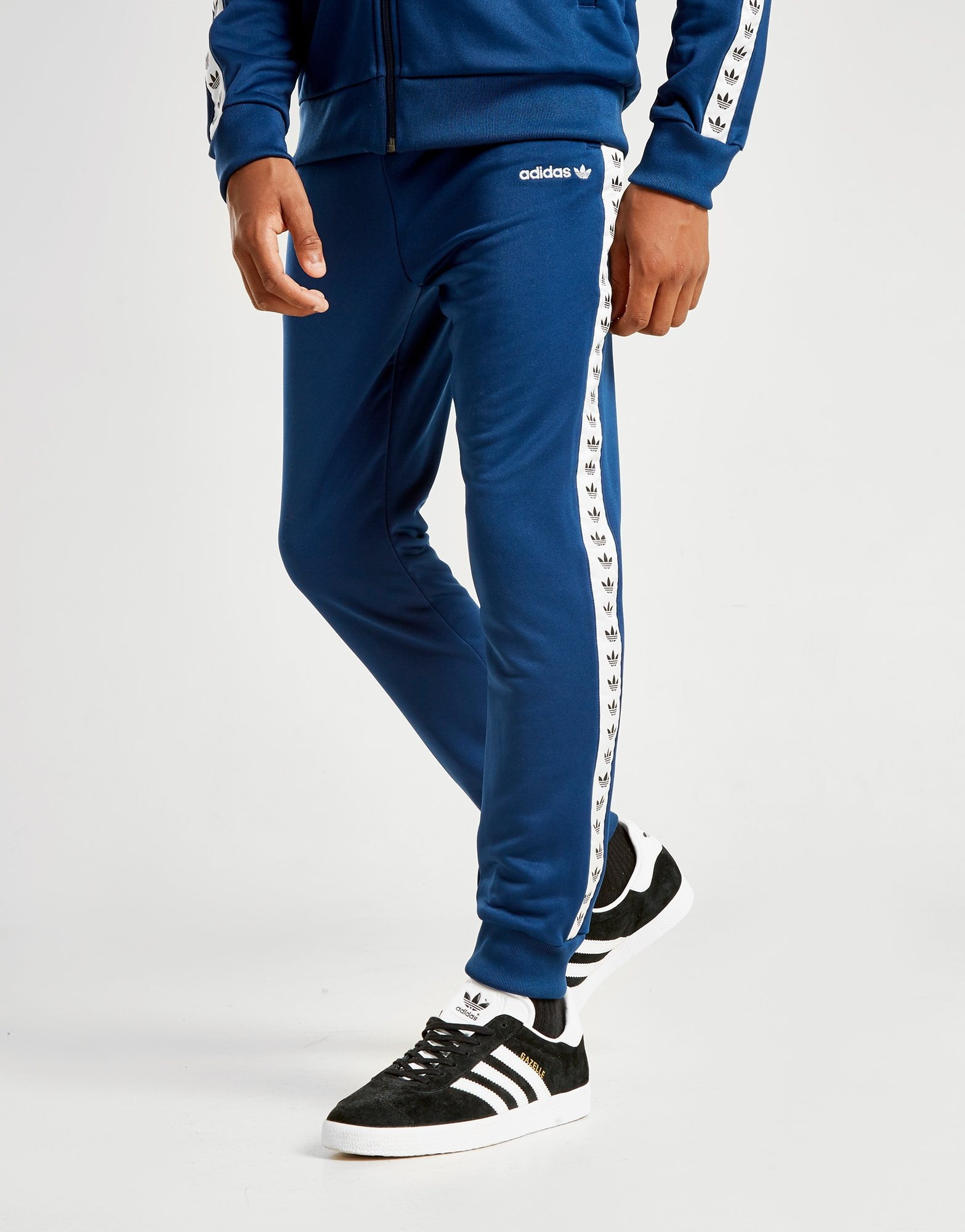 adidas Originals Tape Poly Track Pants Junior   JD Sports Ireland