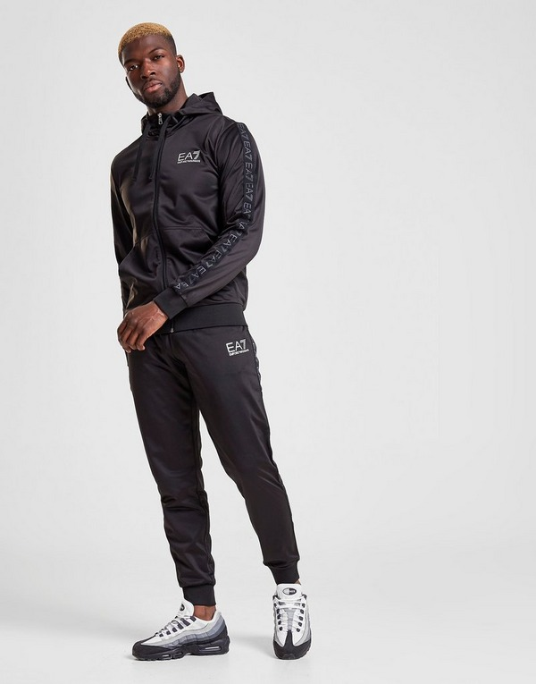 Emporio Armani EA7 Tape Hooded Poly Suit