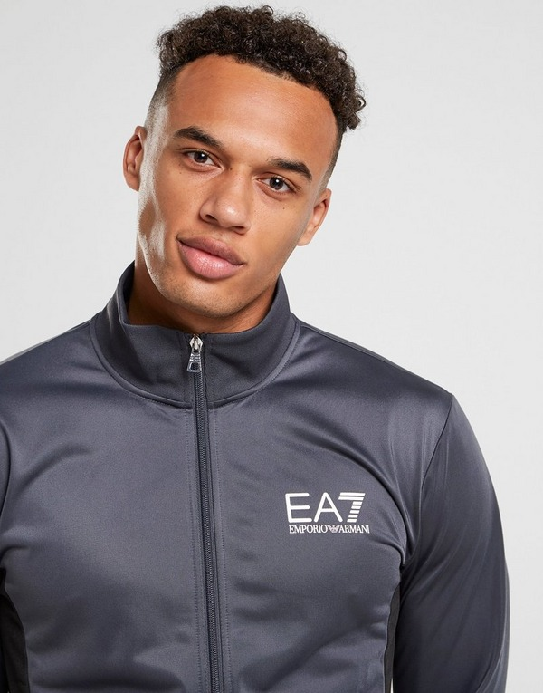Emporio Armani EA7 Sleeve Logo Poly Trainingspak Heren