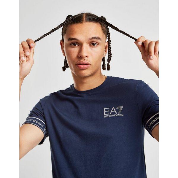 Emporio Armani EA7 Tape Sleeve T-Shirt