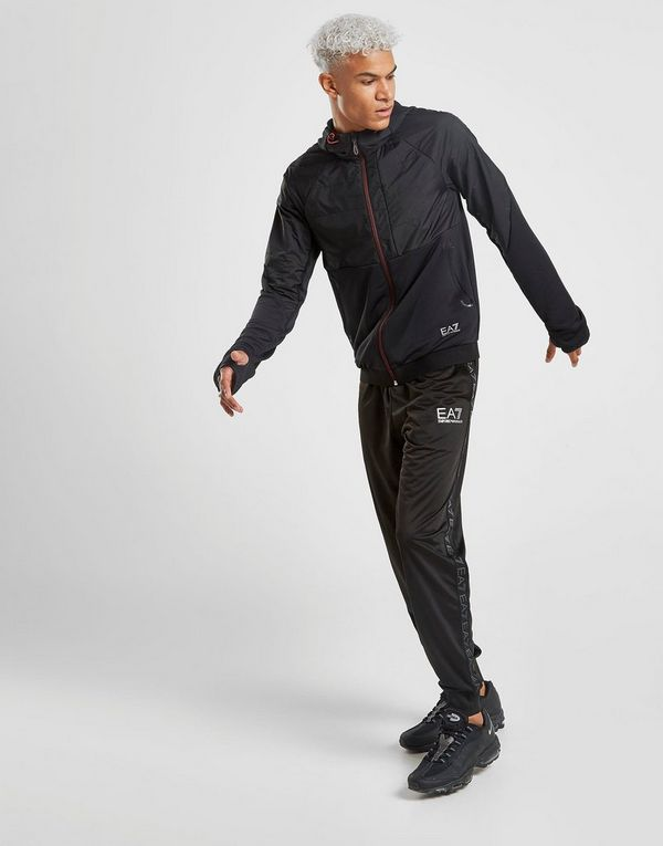 Emporio Armani EA7 Ventus Woven Zip Through Hoodie