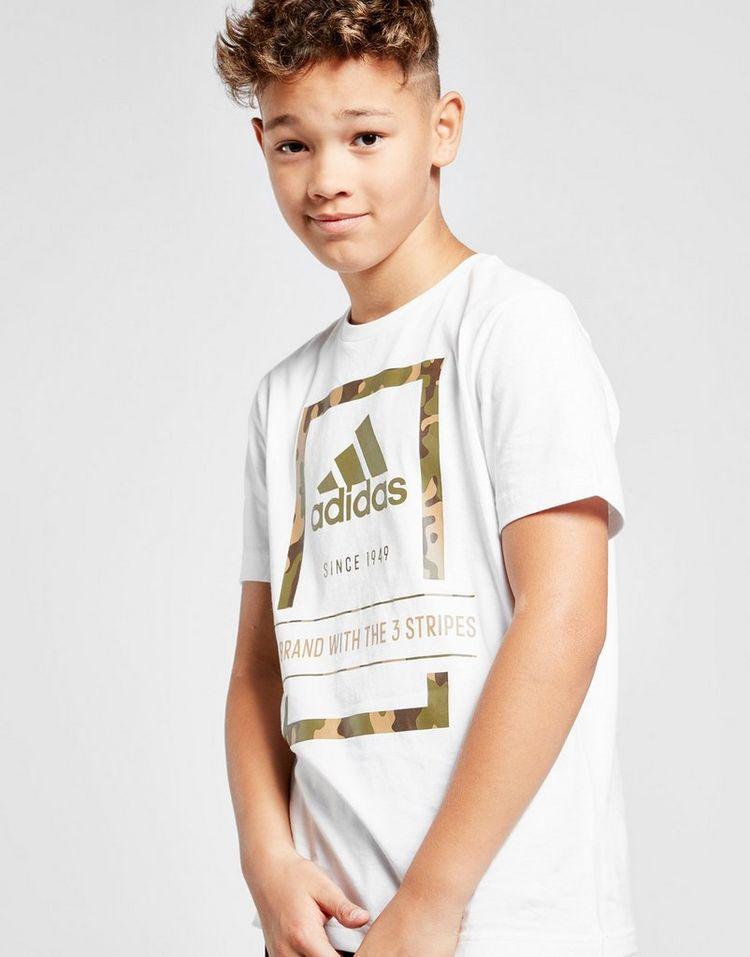 adidas camiseta Badge Of Sport Camo Outline júnior