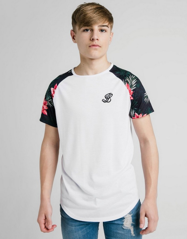 ILLUSIVE LONDON camiseta Floral Raglan júnior