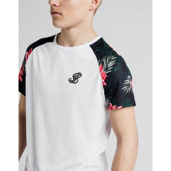 ILLUSIVE LONDON camiseta Floral Raglan júnior