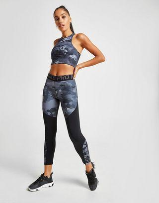 Nike sujetador Training All Over Camo Print