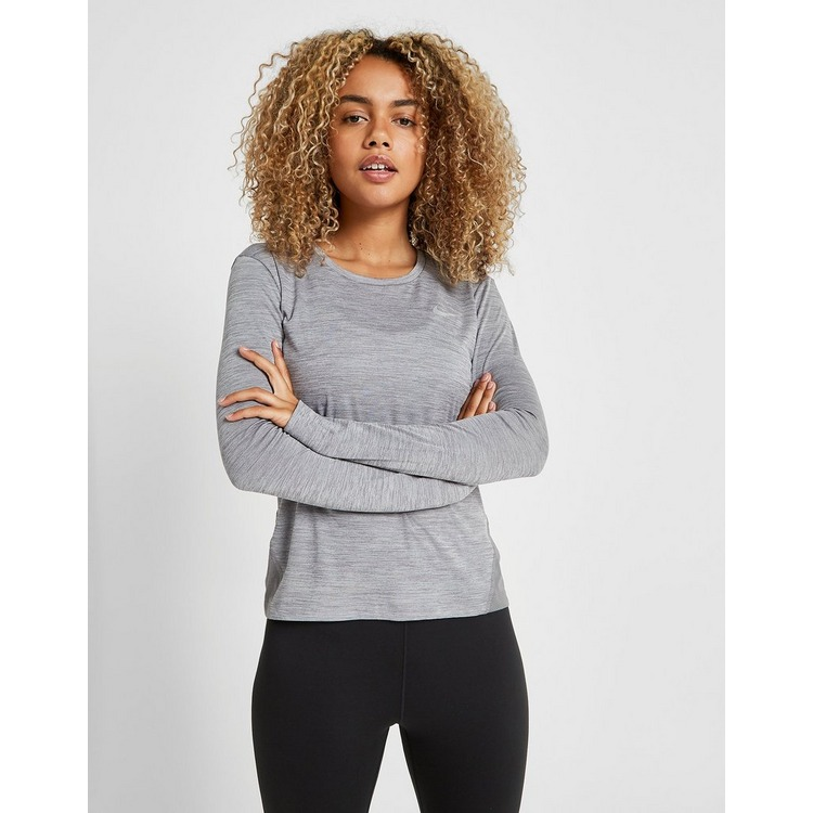 Nike Running Miler Long Sleeve Top Dames
