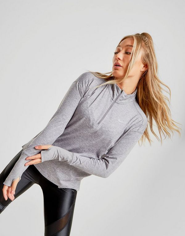 Nike Running Element 1/4 Zip Top Dame