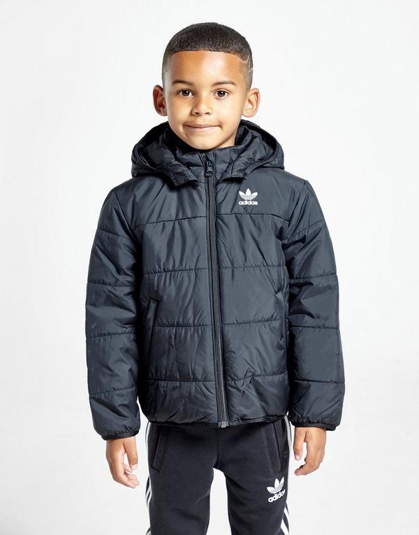 Shoppa adidas Originals Vadderad Jacka Barn i en Svart färg