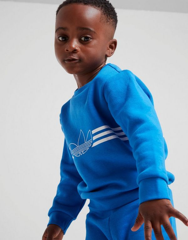 adidas Originals Spirit Outline Crew Tracksuit Infant