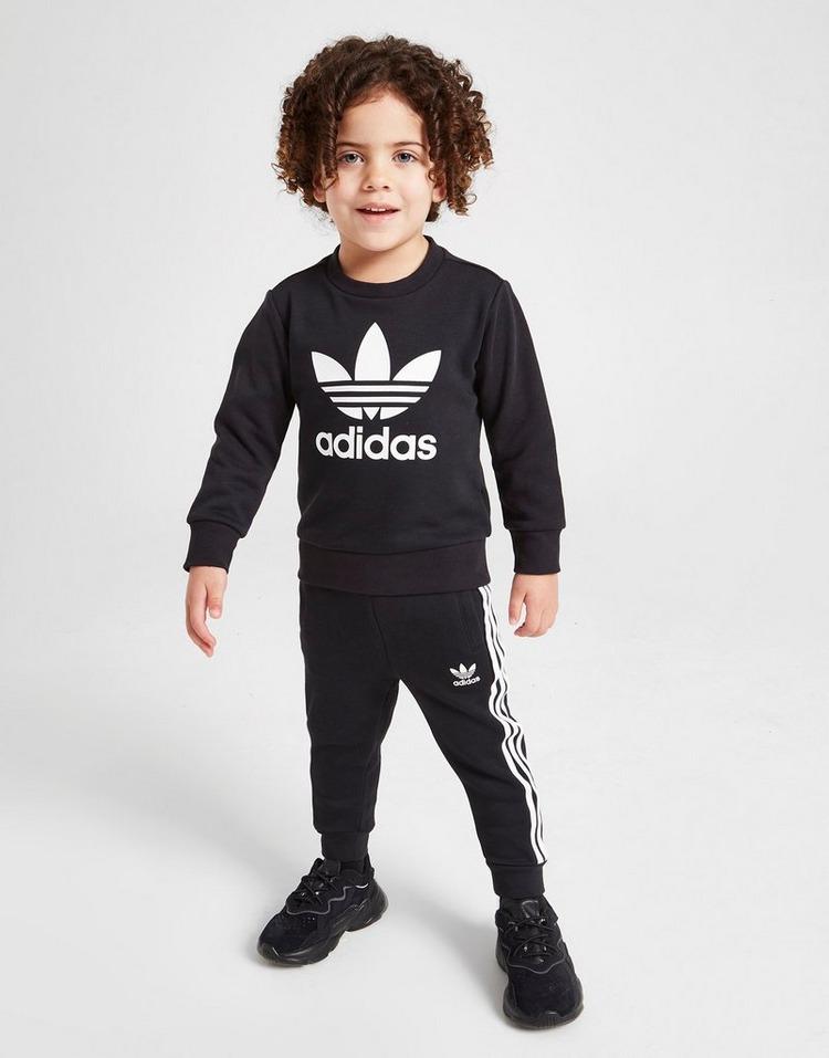 adidas Originals Trefoil Logo Crew Tracksuit Infant