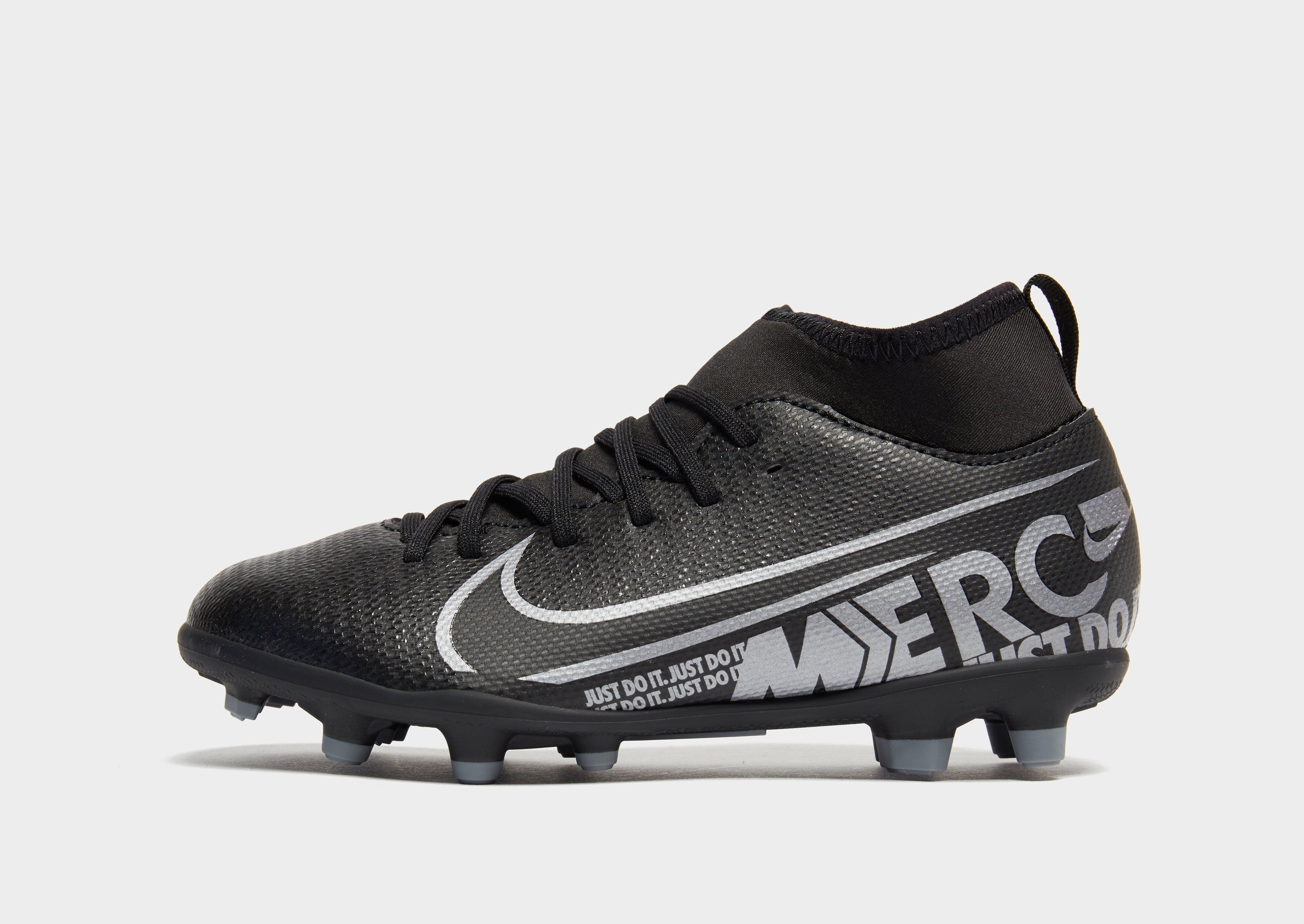 Køb Nike Mercurial Superfly Club DF MG Børn i Sort | JD Sports