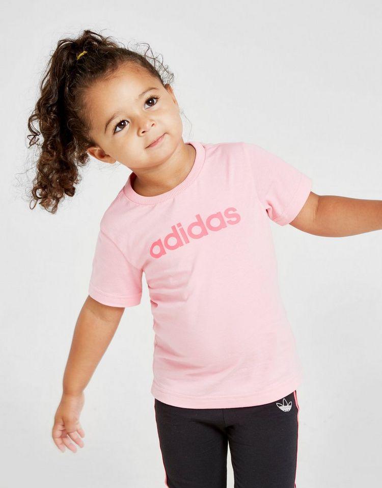 adidas camiseta Girls' Corepara bebé