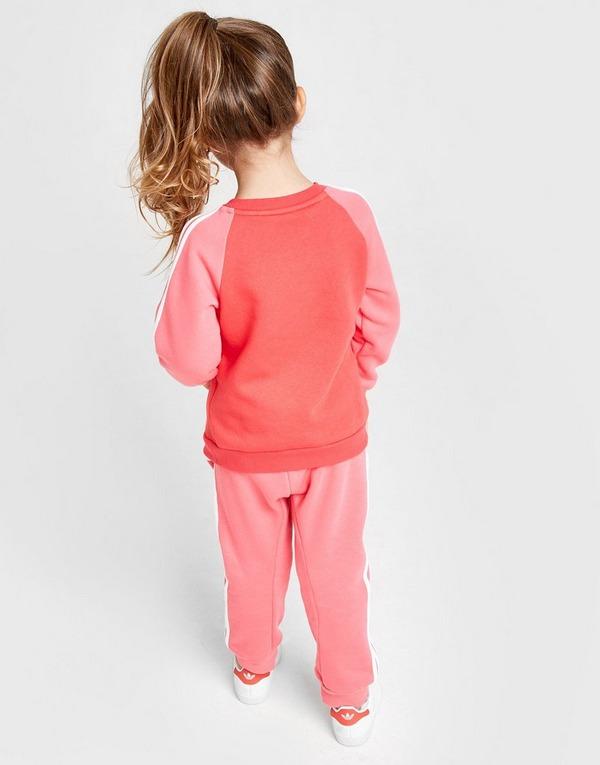 adidas Girls' Logo Trainingsanzug Baby
