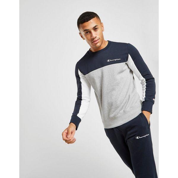 Champion Colour Block Crew Sweatshirt