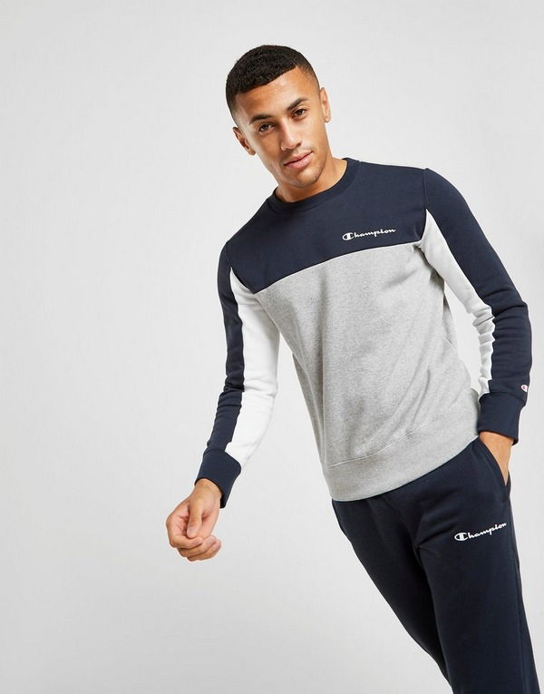 Champion Colour Block Crew Sweatshirt