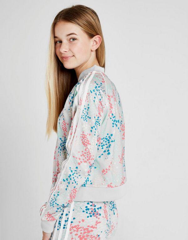 Girls' Print All Originals júniorJD adidas chaqueta Over USzVpMq