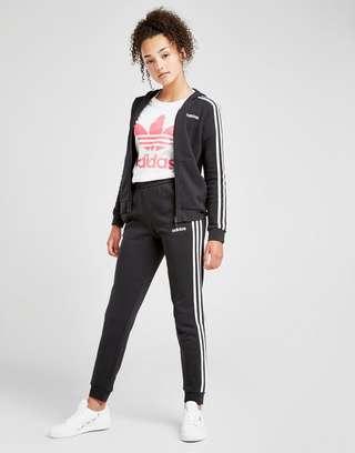 adidas Girls' Core Badge of Sport Fleece Joggers Junior