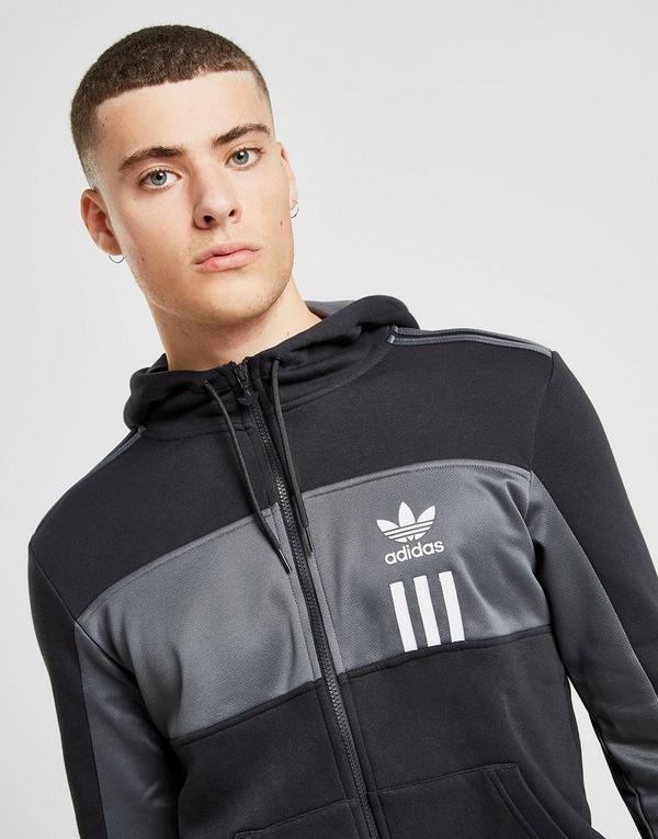 Koop Zwart adidas Originals ID96 Full Zip Hoodie Heren | JD