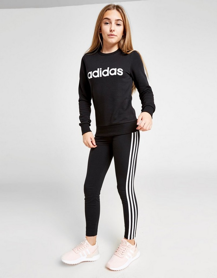 adidas 3-Stripes Core Leggings Junior