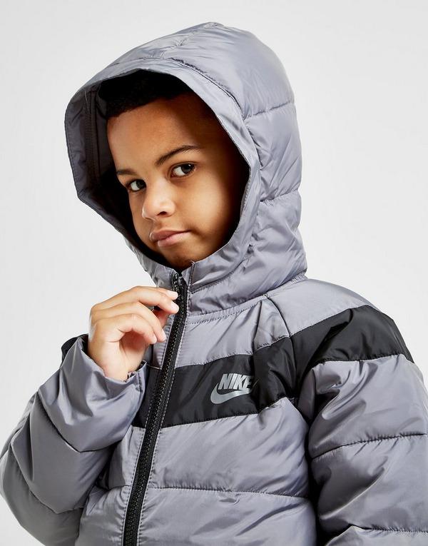 Køb Nike Filled Jakke Børn i Grå   JD Sports