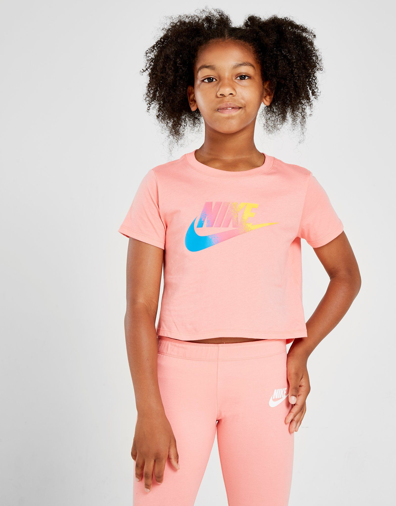 Nike Girls' Futura Crop Top Junior by Nike
