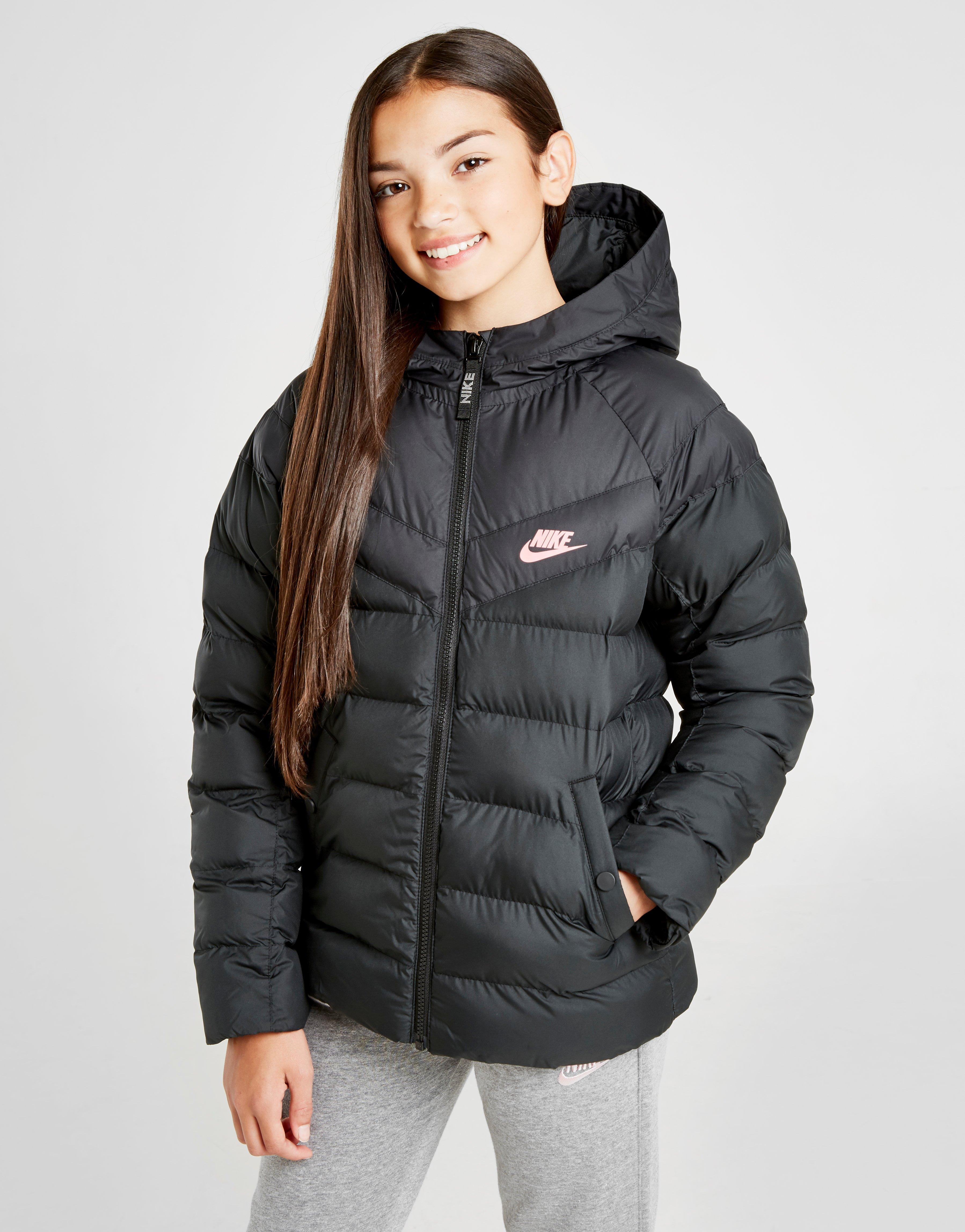 nike coats junior