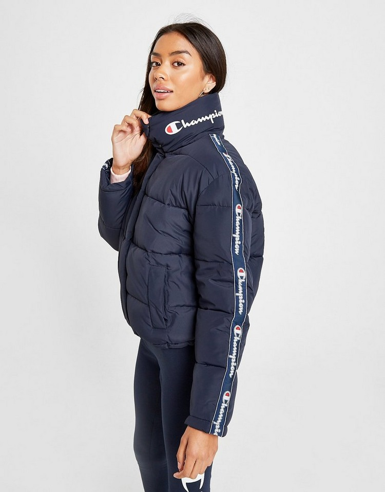 Champion Tape Logo Padded Jacket