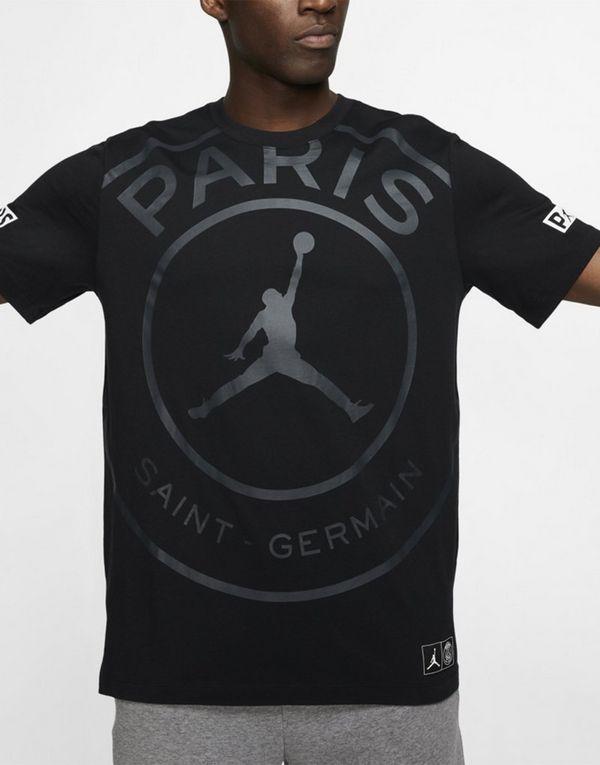 the latest 4a173 62f44 Jordan x Paris Saint Germain Logo T-Shirt | JD Sports