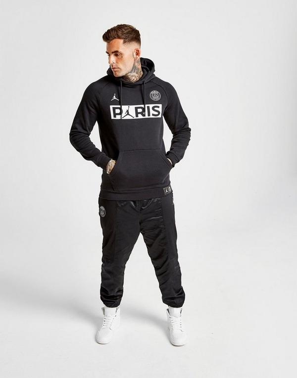 Acherter Noir Jordan Sweat à capuche x Paris Saint Germain