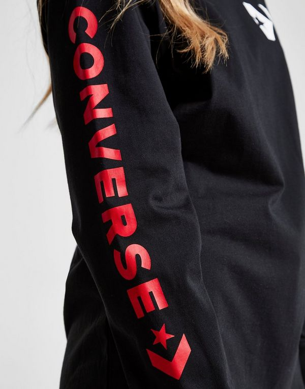 Converse Logo Long Sleeve Boyfriend T-Shirt