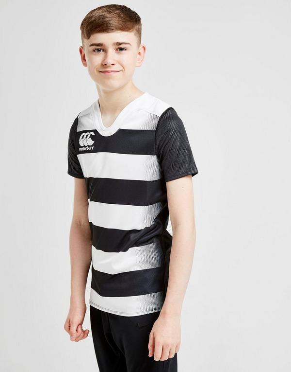 Canterbury VapoDri Hooped Rugby Shirt Junior
