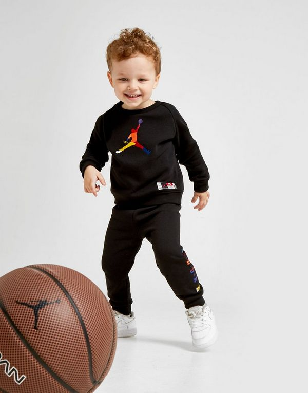 Jordan Hybrid Crew Tracksuit Infant
